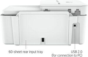 HP DeskJet 4155e All in One Wireless Color Printer 6