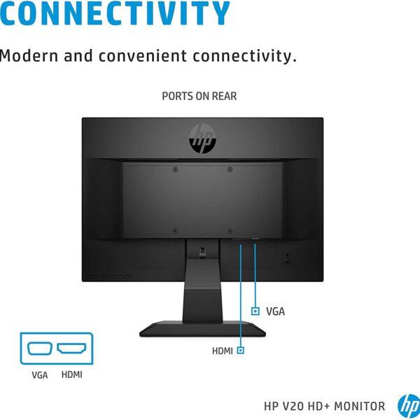 HP V20 HD Monitor 19.5 inch Diagonal HD Computer Monitor 1