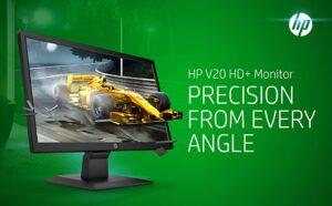 HP V20 HD Monitor 19.5 inch Diagonal HD Computer Monitor AD