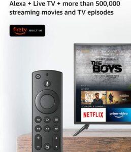 Insignia 24 inch Smart HD 720p TV Fire TV 4