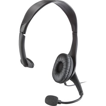Insignia PC Headset with Flexible Boom Mic 2