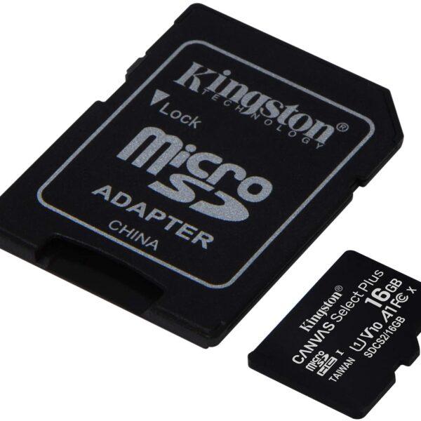 Kingston 16GB Micro SD Card 2