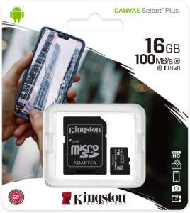 Kingston 16GB Micro SD Card 3