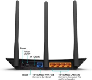 TP Link N450 WiFi Router for Home TL WR940N 3